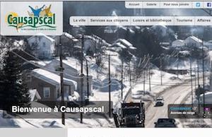 Ville de Causapscal - Gaspésie, Causapscal