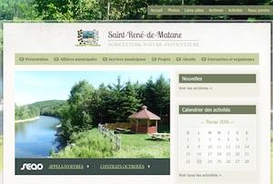 Municipalité de Saint-René-de-Matane - Gaspésie, Saint-René-de-Matane