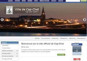 Ville de Cap-Chat - Gaspésie, Cap-Chat