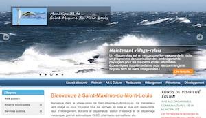 Municipalité de Saint-Maxime-du-Mont-Louis - Gaspésie, Saint-Maxime-du-Mont-Louis (Mont-Louis)
