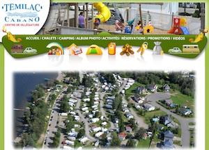 Camping Témilac - Bas-Saint-Laurent, Témiscouata-sur-le-Lac (Cabano)