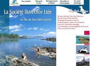 Société Duvetnor - Bas-Saint-Laurent, Rivière-du-Loup (V)