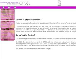 Centre de psychosynthèse du Bas-Saint-Laurent - Bas-Saint-Laurent, Pohénégamook