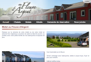 Motel au Fleuve d'Argent et chalets - Bas-Saint-Laurent, Rivière-du-Loup (V)