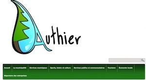 Municipalité d'Authier - Abitibi-Témiscamingue, Authier
