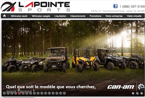 Lapointe Sports - Lanaudière, Joliette