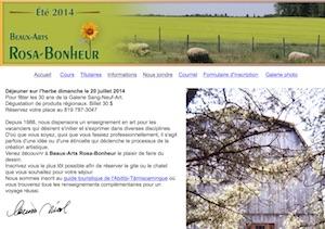 École Beaux-Arts Rosa-Bonheur / Galerie Sang-Neuf Art - Abitibi-Témiscamingue, Palmarolle