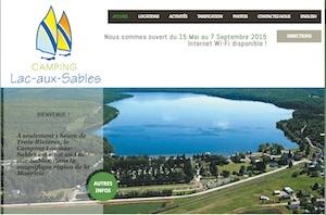 Camping du Lac Aux Sables - Mauricie, Lac-aux-Sables