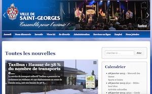 Ville de Saint-Georges de Beauce - Chaudière-Appalaches, Saint-Georges (Beauce)