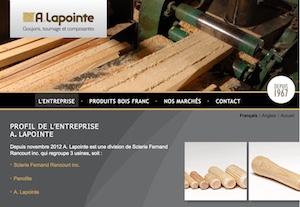 A. Lapointe & Fils - Estrie / Canton de l'est, Saint-Romain