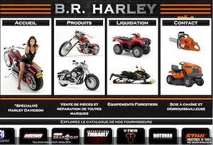 BR Harley - Estrie / Canton de l'est, Ville Coaticook