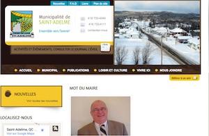 Municipalité de Saint-Adelme - Gaspésie, Saint-Adelme