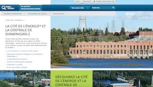 Centrale Hydroélectrique de Shipshaw - Saguenay-Lac-Saint-Jean, Saguenay (Saguenay) (V) (Jonquière)
