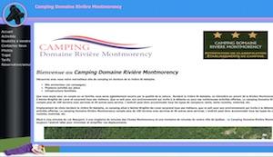 Camping Domaine rivière Montmorency - Capitale-Nationale, Sainte-Brigitte-de-Laval