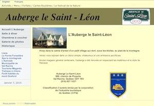 Auberge le Saint-Léon - Estrie / Canton de l'est, Val-Racine