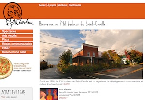 P'tit Bonheur - Estrie / Canton de l'est, Saint-Camille