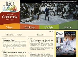 Ville de Coaticook - Estrie / Canton de l'est, Ville Coaticook