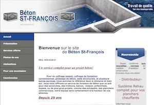 Béton St-François inc. - Estrie / Canton de l'est, Saint-François-Xavier-de-Brompton