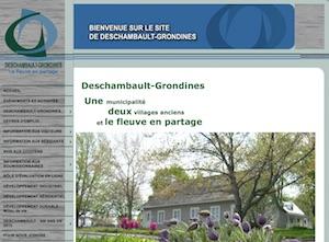 Municipalité de Deschambault- Grondine - Capitale-Nationale, Deschambault-Grondines