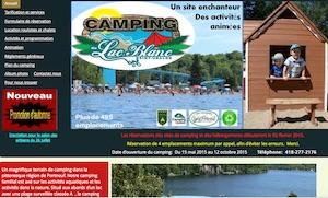 Camping du Lac Blanc - Capitale-Nationale, Saint-Ubalde