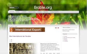 Site international de l'érable - -Centre-du-Québec-, Plessisville