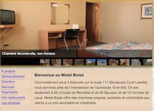 Motel Boisé - Laurentides, Blainville