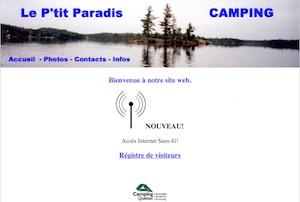 Camping Le P'tit Paradis - Abitibi-Témiscamingue, Saint-Eugène-de-Guigues