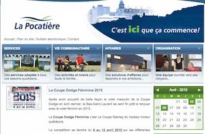 Ville de La Pocatière - Bas-Saint-Laurent, La Pocatière