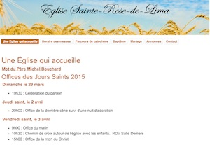L'Église Sainte-Rose-de-Lima - Laval, Laval