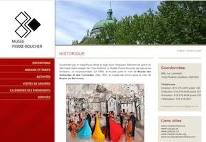 Musée Pierre-Boucher - Mauricie, Trois-Rivières