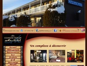 Complexe Hôtelier Méritotel - Chaudière-Appalaches, Municipalité Lac-Etchemin (Bellechasse)