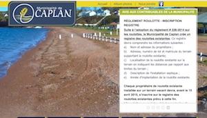 Municipalité de Caplan - Gaspésie, Caplan