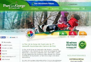 Camping Parc de la Gorge de Coaticook - Estrie / Canton de l'est, Coaticook