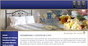 Auberge Marquis de Montcalm - Estrie / Canton de l'est, Sherbrooke (Jacques-Cartier)