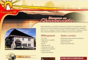 Motel Restaurant Chantmartin - Côte-Nord / Manicouagan, Tadoussac