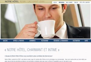 Notre Hôtel - Saguenay-Lac-Saint-Jean, Alma (Lac-St-Jean)
