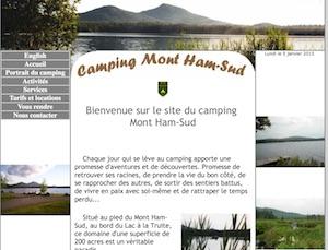 Camping Mont Ham-Sud - Estrie / Canton de l'est, Ham-Sud