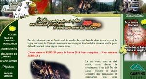 Camping du Domaine de l'Aigle - Estrie / Canton de l'est, Saint-Herménégilde