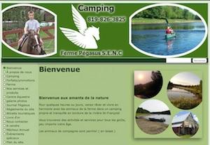 Camping ferme Pégasus - Estrie / Canton de l'est, Ulverton