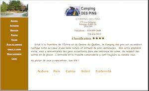 Camping des Pins - -Centre-du-Québec-, Kingsey Falls