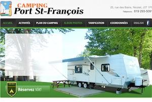 Camping Port St-Francois - -Centre-du-Québec-, Nicolet