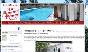 Camping au Bonnet Rouge - Chaudière-Appalaches, Saint-Jean-Port-Joli (Côte-du-Sud)