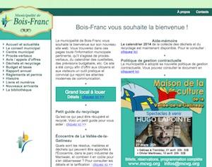 Municipalité de Bois-Franc - Outaouais, Bois-Franc