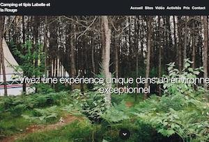 Camping et tipis Labelle et la Rouge - Laurentides, Labelle