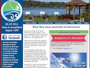 Municipalité de Blue Sea - Outaouais, Blue Sea