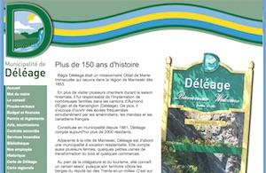 Municipalité de Déléage - Outaouais, Déléage