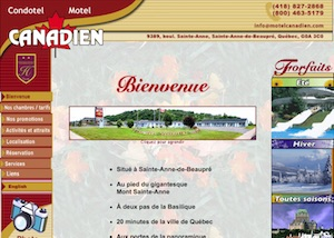 Condotel Motel Canadien - Capitale-Nationale, Sainte-Anne-de-Beaupré