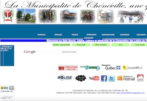 Municipalité de Chénéville - Outaouais, Chénéville