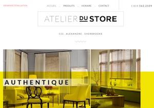 Atelier du Store - Estrie / Canton de l'est, Sherbrooke