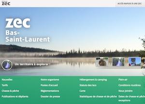 Zec Bas Saint-Laurent - Bas-Saint-Laurent, Rimouski